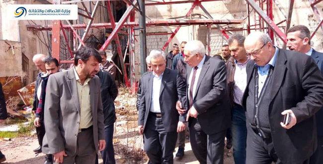 مركز خدمة المواطن الأول في محافظة درعا سيكون في مبنى البريد