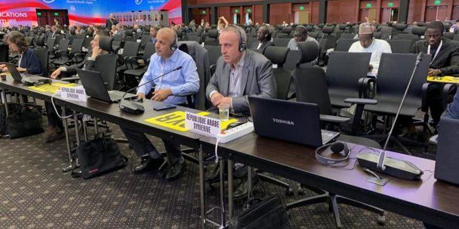 مشاركة فاعلة للجمهورية العربية السورية في  المؤتمر العالمى للاتصالات الراديوية